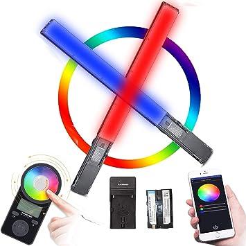 Yongnuo YN360 aplicación Inalámbrico Profesional LED Luz de vídeo 3200K-5500K Control RGB SMD lámpara