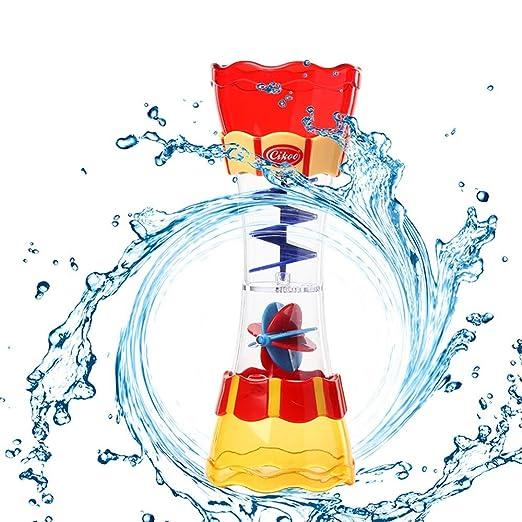 Cebbay-juguetes para niños Regalo del día de los niños Estación de pulverización submarina Baño para niños Juguete Ducha de Mano Bomba de Agua Operada ...