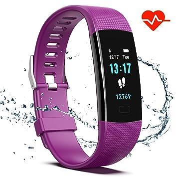 Amazon.com: Saikee Fitness Tracker, reloj de actividad con ...