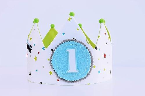 Corona cumpleaños niños, adorno para fotografías, corona de ...