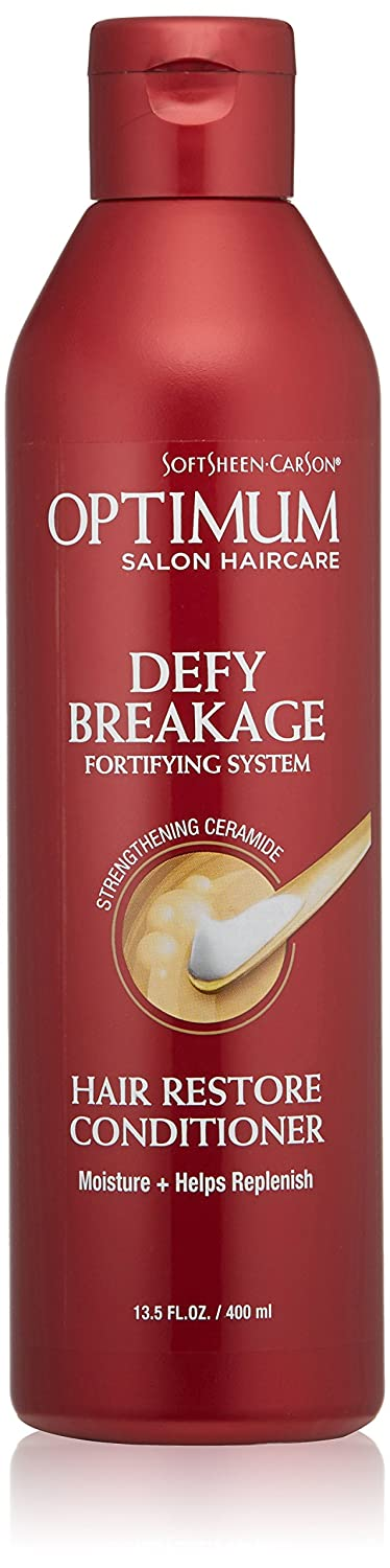 SoftSheen-Carson Optimum Salon Haircare Defy Breakage Fortifying Sys Hair Restore Conditioner, 13.5 floz