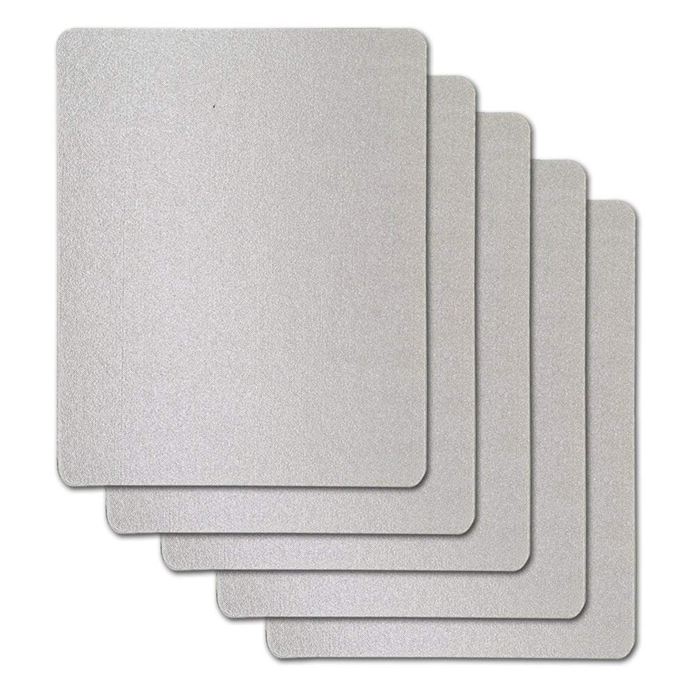 10 PCS Waveguide Cover, Universal Mica Sheet for All Microwave Oven, Cut to Size, 150X120mm, 10 Pack