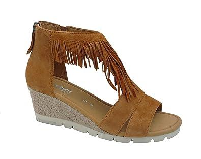 67b48305bc94a8 Gabor Comfort Damenschuhe 42.845 Damen Sandale  Amazon.de  Schuhe    Handtaschen