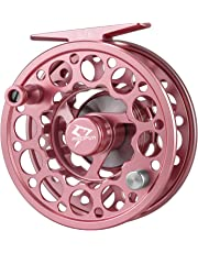 Piscifun Sword Fly Fishing Reel with CNC-machined Aluminum Alloy Body 3/4, 5/6, 7/8, 9/10 Weights(Black,Gunmetal, Pink, Space Gray)