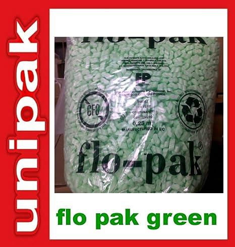 Flo Pak Green material de tapicería chips de relleno de ...