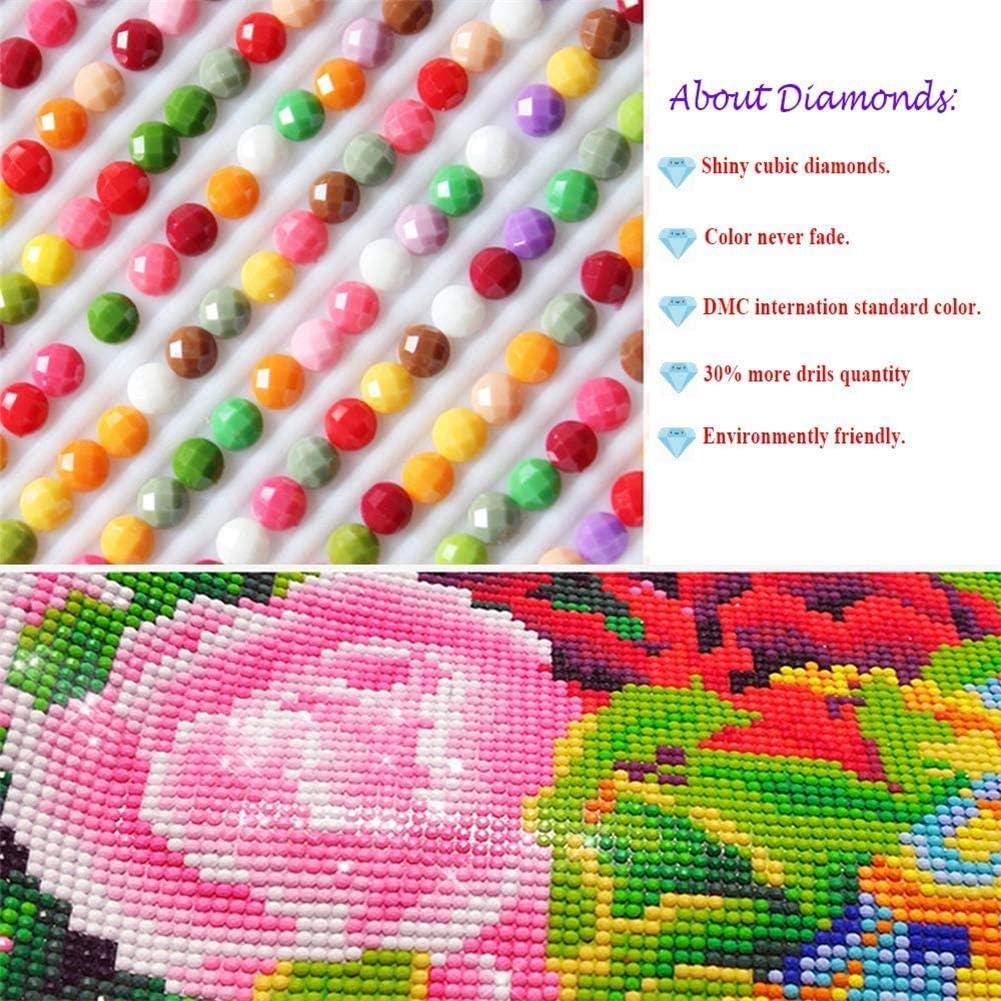 Full Circle Diamond Embroidery Indian Headdress DIY Pattern Rhinestone 5D Diamond Painting Cross Stitch Handmade kit Creative Picture Diamond Mosaic Gift