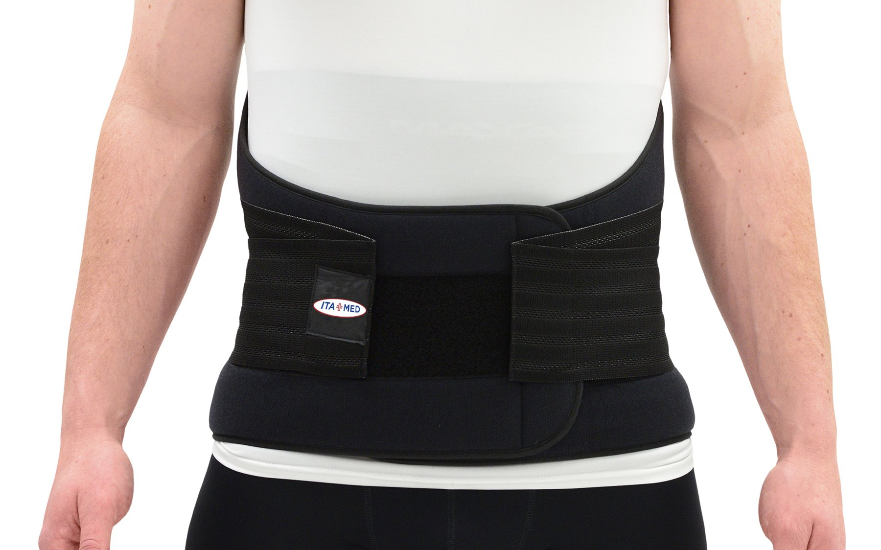 ITA-MED Improved Extra Strong Lower Back Support, Small BL, 12 Inch Wide