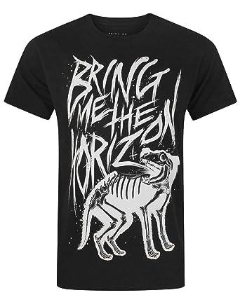 c62d68a5a Bring Me The Horizon Wolf Bones Men's T-Shirt: Amazon.co.uk: Clothing
