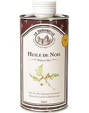 La Tourangelle - Huile de Noix - Goût intense et savoureux de Noix toastée - Idéal pour assaisonner vos plats - 500ml