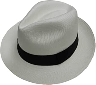 Equal Earth New Genuine Panama Hat Rolling Folding Authentic & Fairtrade - White