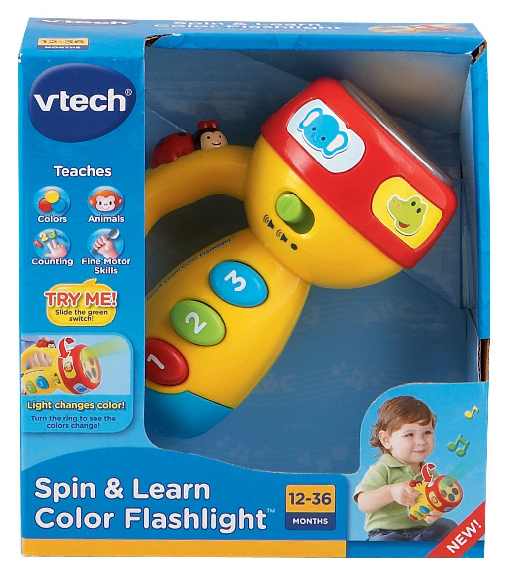 VTech Spin and Learn Color Flashlight, Yellow by VTech (Image #4)