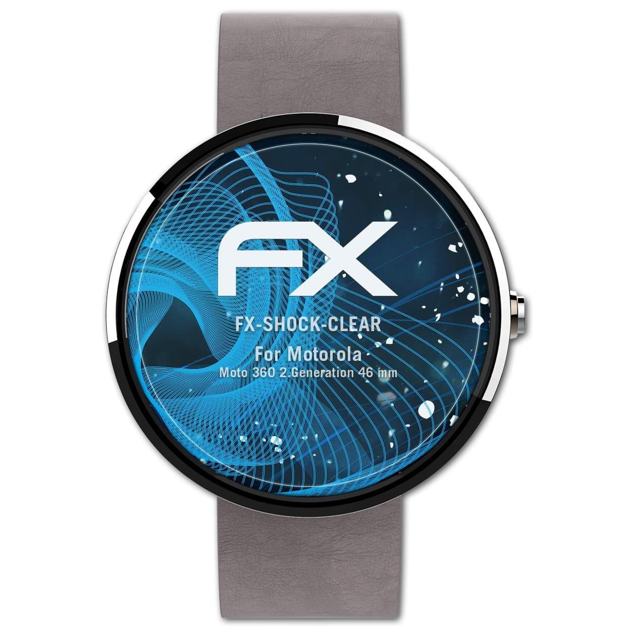 atFoliX Antichoque Película Protectora Compatible con ...