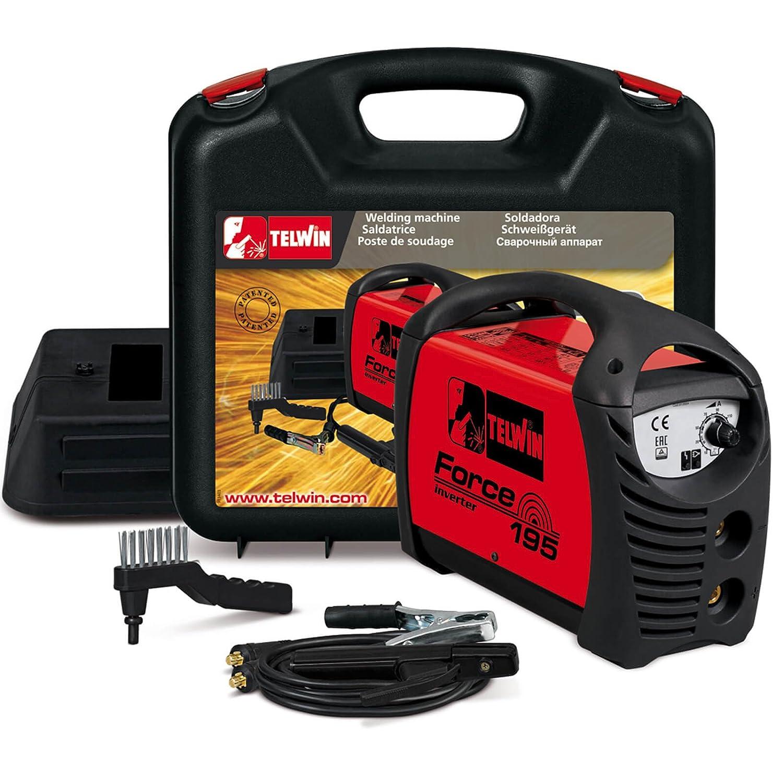 Telwin TE-815859 - FORCE 195 230V ACX - MALETA DE PLASTICO: Amazon.es: Bricolaje y herramientas