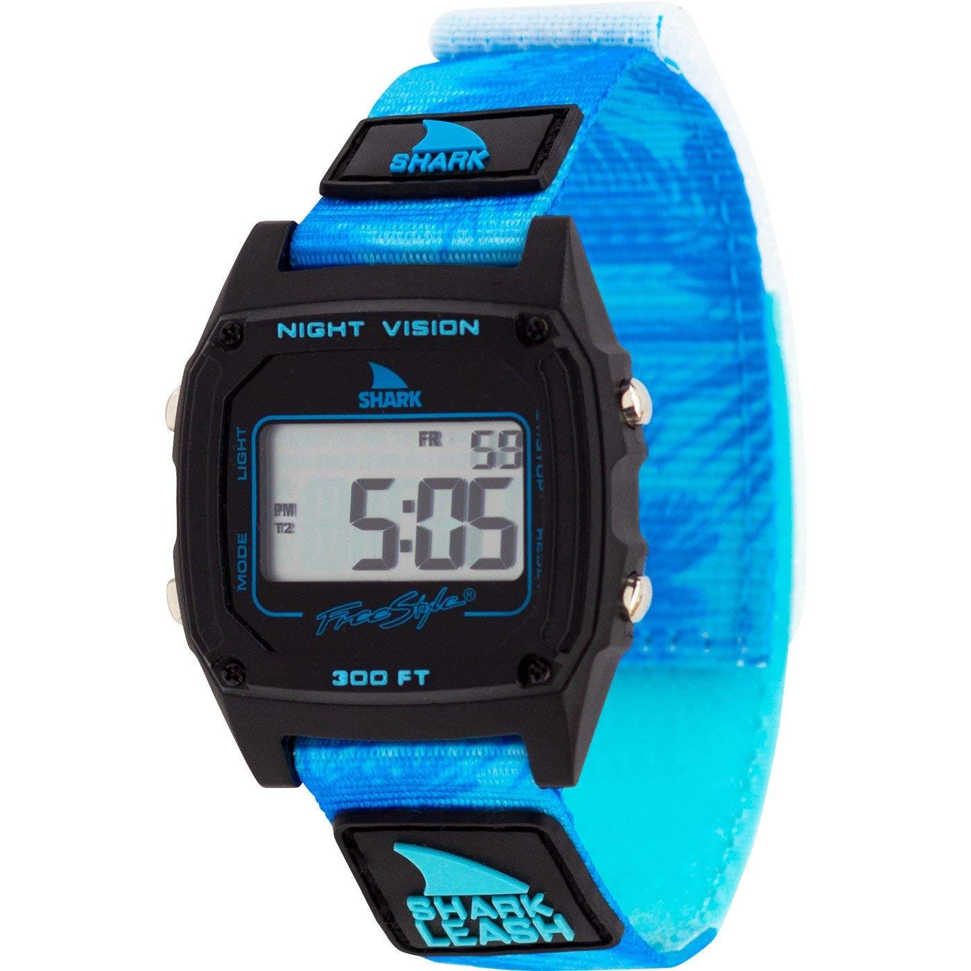 Freestyle Shark Classic Leash Aloha Blue Palms Unisex Watch FS101022