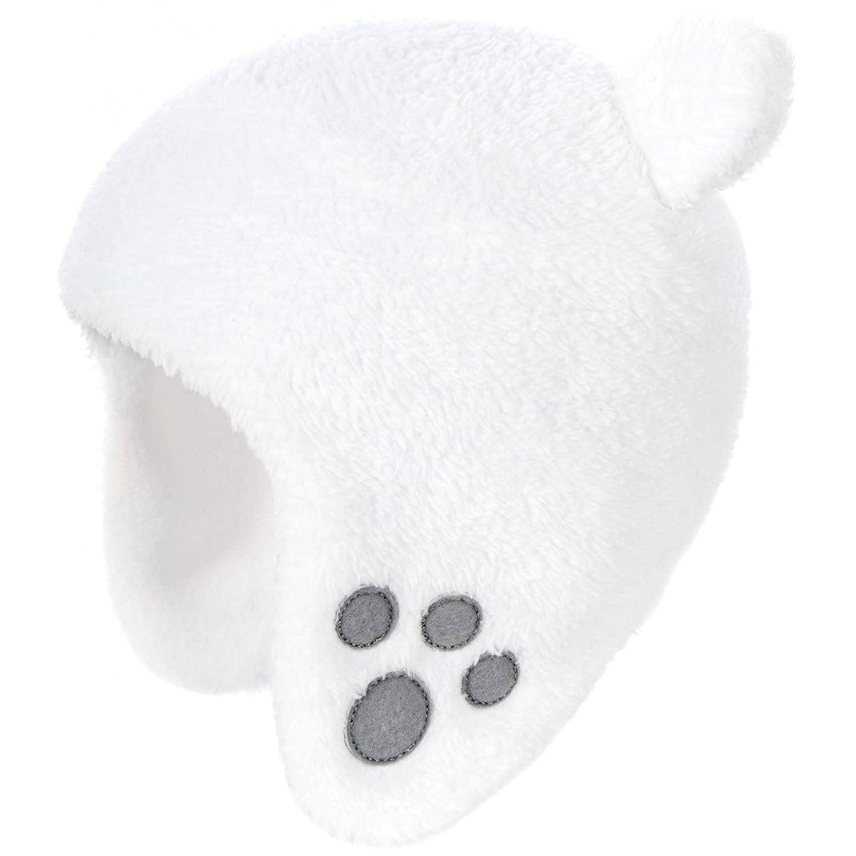 Trespass - Gorro de invierno con detalle de orejas para bebé (Talla Única/Blanco) UTTP2839_1