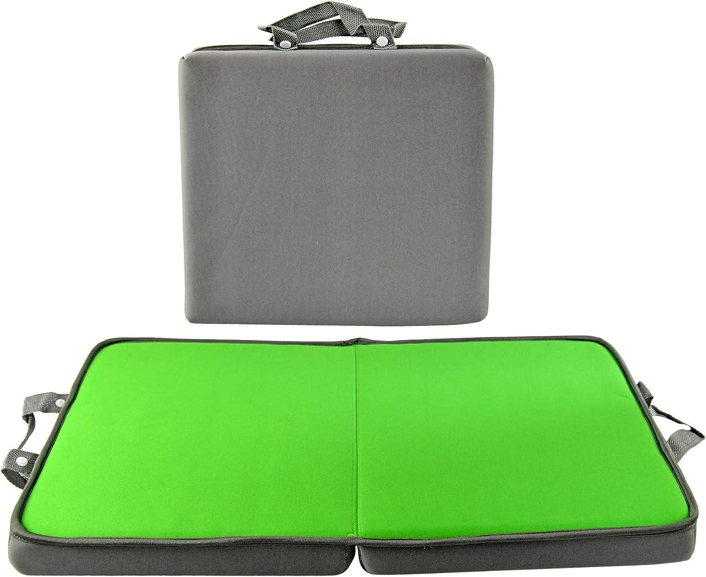 HOME-X Portable Cushion, Kneeling Cushion, Neoprene Garden Kneeling Pad, Multifunction Bench Pad, Yoga Knee Pad, Cushion for Kneeling, 24
