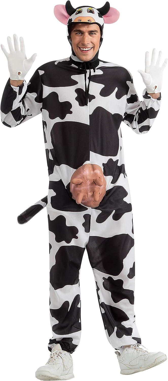 B00004U3KU Rubie's Costume Comical Cow Costume 71qFiuKqt0L