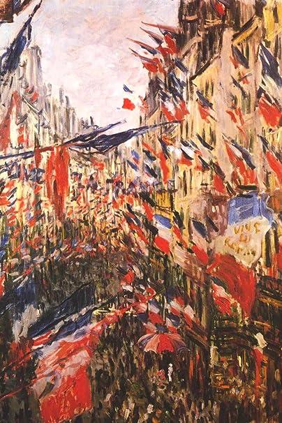 The Rue Montorgueil Wall Art Poster Print Claude Monet