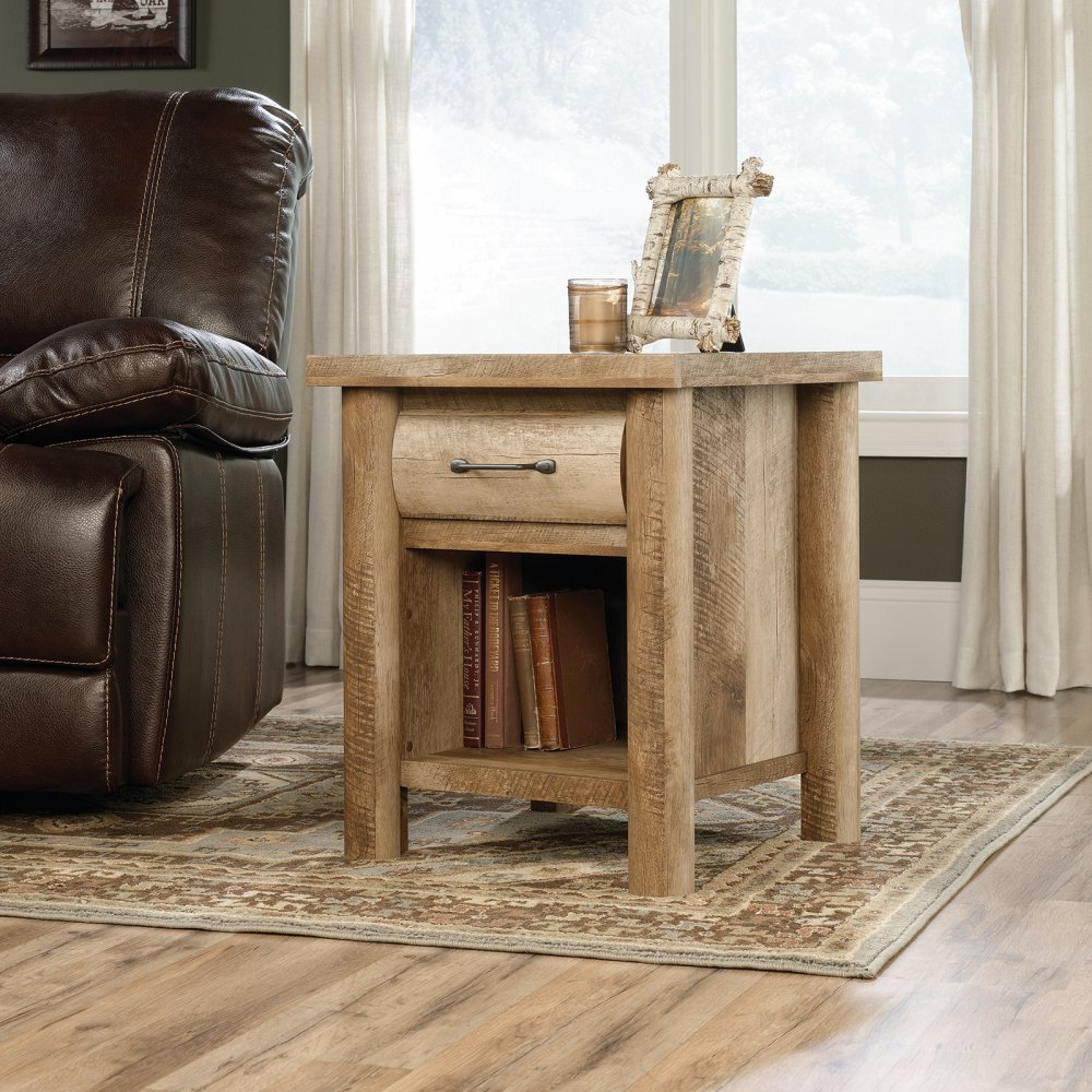 Beautiful Amazon.com: Sauder Boone Mountain End Table In Craftsman Oak: Kitchen U0026  Dining