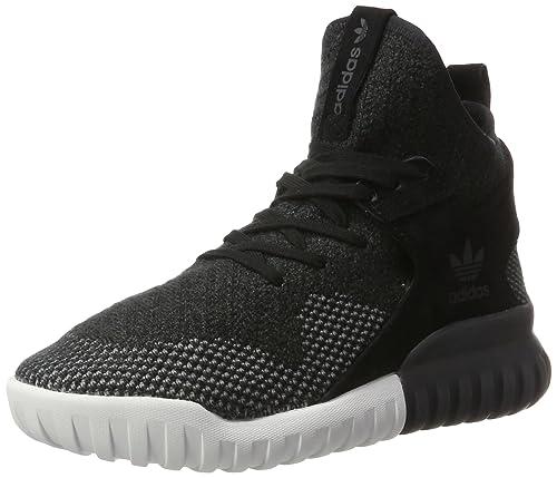 buy online 73b8b 75941 adidas Tubular X Primeknit, Zapatillas Unisex Adulto, Negro (Core Black Dark  ch Solid Grey), 37 1 3 EU  Amazon.es  Zapatos y complementos