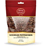 Szechuan Peppercorns AAA Grade 6 OZ | Red Whole Sichuan | Ingredient for Chinese Cuisines by Spicy World