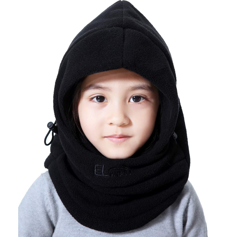 dacaab864b53 Amazon.com  Miracu Children s Lightweight Balaclava Winter Hat ...