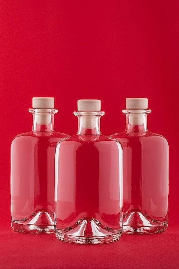 slkfactory - Botellas de Cristal vacías para Farmacia HGK, Vino ...