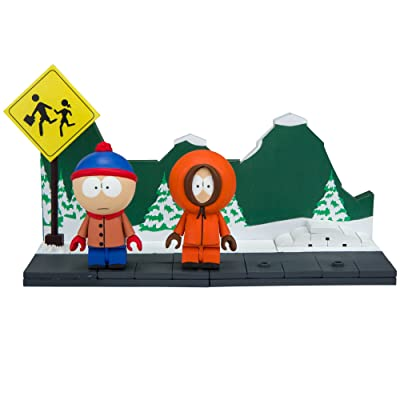 McFarlane Toys South Park The Bus Stop Small Construction Set: Toys & Games