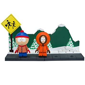 McFarlane Toys South Park Stan & Kenny with The Bus Stop Small ...