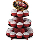 Wilton 1512-7110 Disney Pixar Cars 3 3 Cupcake Stand, Assorted