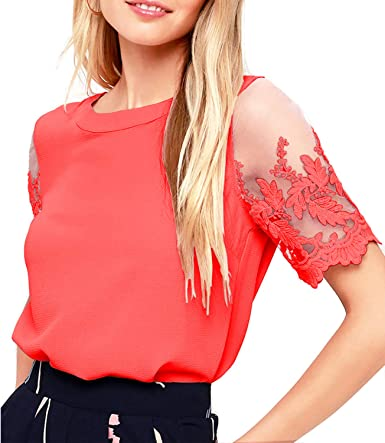 Trust Womens Crushed Velvet Tie Sleeve Top