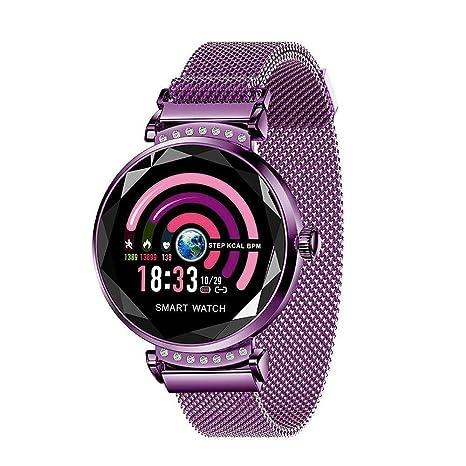 Women Smart Watch, Businda Fishion Fitness Tracker Smartwatch with Blood Pressure Sleep Monitor Period Reminder IP67 Waterproof Smart Bracelet Step ...