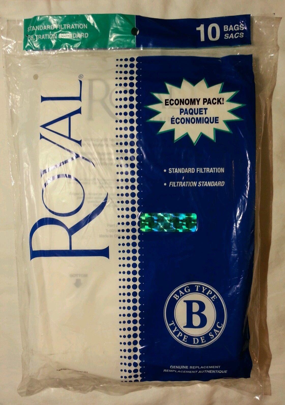 Royal Type B Vacuum Bags 2066247001 10 Pack 46034888016