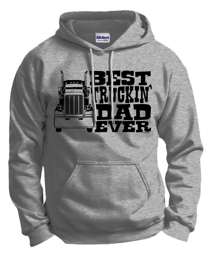 Dad Gift Best Truckin Dad Ever Truck Driver Shirts