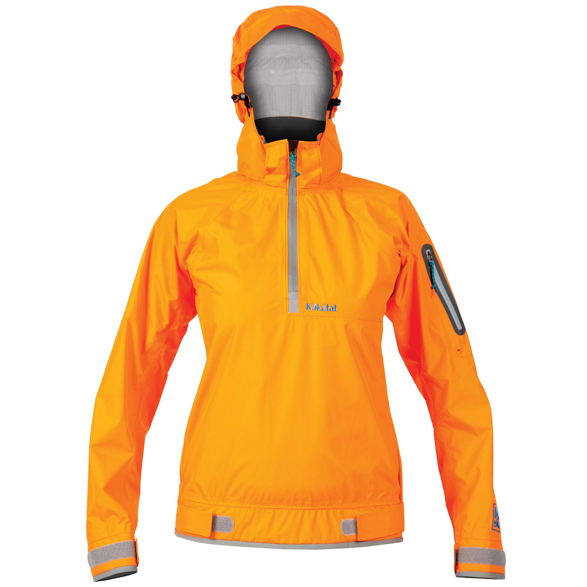 Kokatat Women's Hydrus Jetty Paddling Jacket-Orange-S by Kokatat