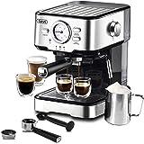Espresso Machine 15 Bar Pump Pressure, Expresso Coffee Machine With Milk Frother Steam Wand, Espresso and Cappuccino Maker Fo