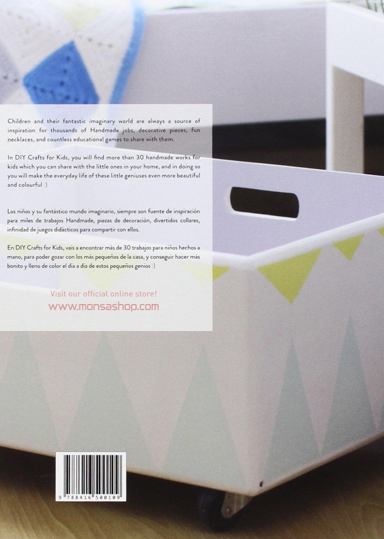 Diy Crafts for Kids (English and Spanish Edition): Eva Minguet: 9788416500109: Amazon.com: Books