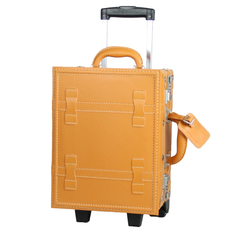 MOIERG(モアエルグ)子供用 キッズキャリー バッグ キャリーケース 機内持ち込み B00LHDB1ZM M|キャメル キャメル M