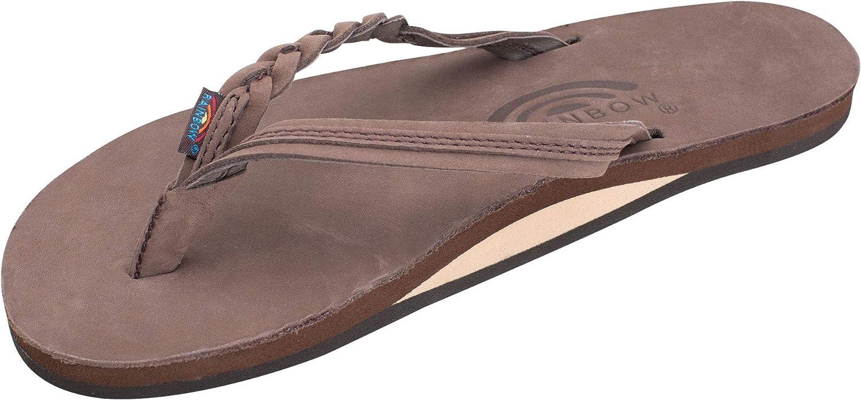B01BV0QJLG Rainbow Sandals Women's Flirty Braidy Premier Leather w/Single Braided Strap 71qFx3pIxsL