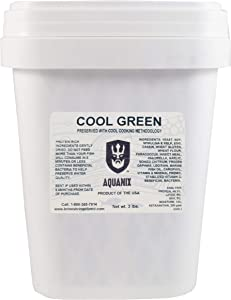 Cool Green Spirulina and Kelp Tropical Fish Flake, 3 lb. Pail