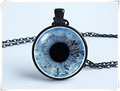 Eyeball necklace human eyeball blue eye glass eyeball eye necklace eyeball necklace human eyeball blue eye glass eyeball eye necklace aloadofball Image collections