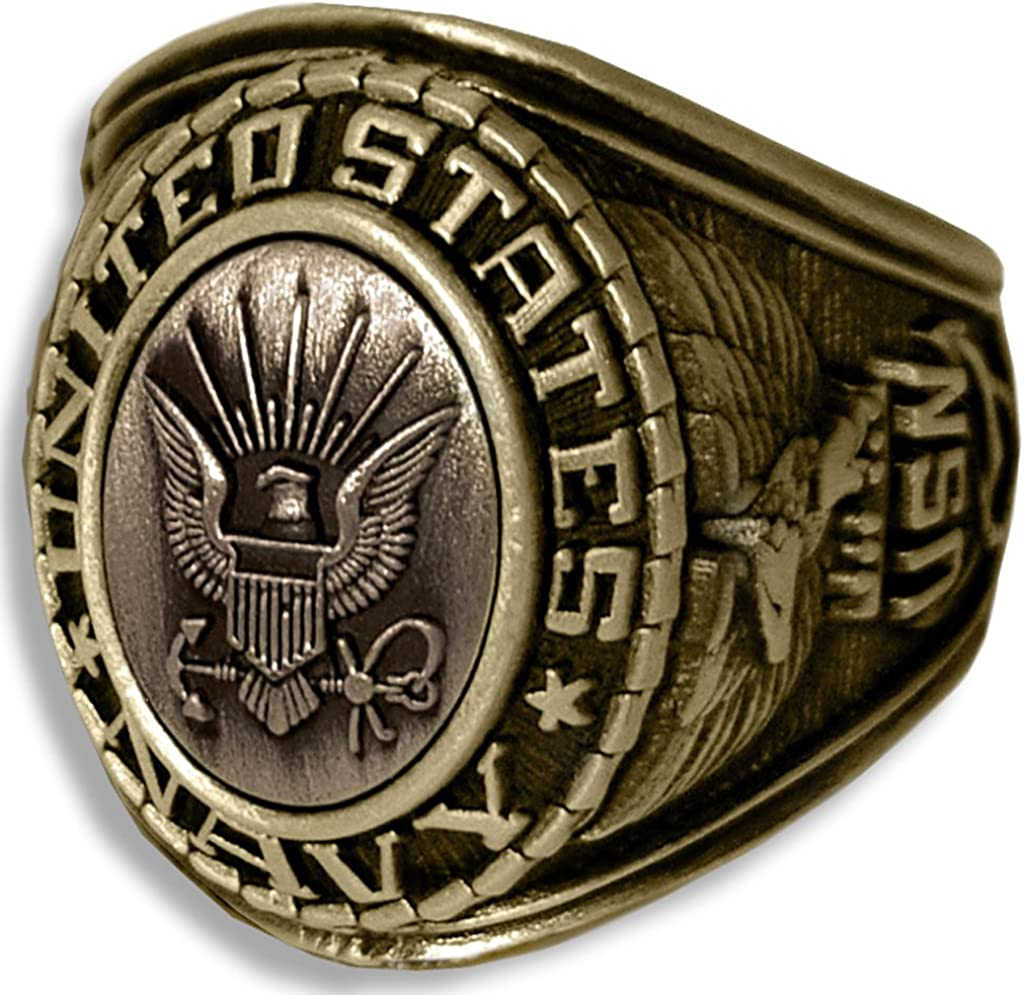 60 Special Forces Ring Large Solid Sterling Silver Size 8 to 14
