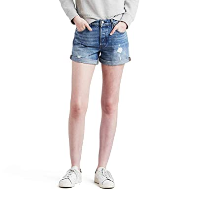Levi's 501 Long Shorts at Women's Clothing store