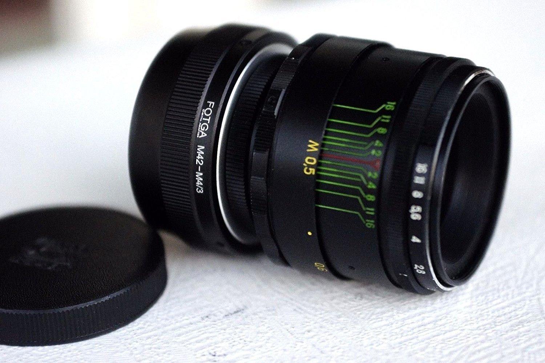 Helios 44-2 58mm F2 Russian Lens for Sony E NEX (for E-mount cameras) by Helios
