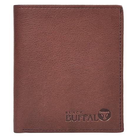 American Buffalo Genuine Leather Billfold,black