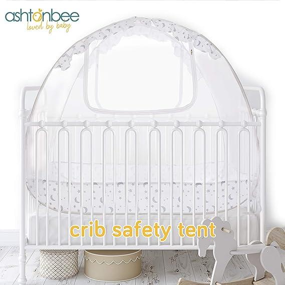Buy Baby Crib Canopy Safety Tent Baby Crib Tent Mesh Crib Cover