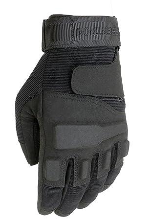 Milit/är,Paintball,Airsoft Seibertron Motorrad Handschuhe Herren Vollfinger Army Taktische Gloves Ideal f/ür Airsoft