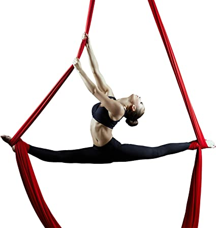 F. vida Silks de antena para antena Yoga hommock o las acrobacias ...