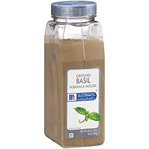 McCormick Culinary Ground Basil, 12 oz