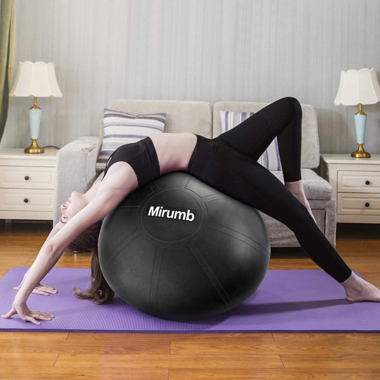 Mirumb Pelota de Ejercicio, Massage Balls Pelota de Pilates Yoga ...